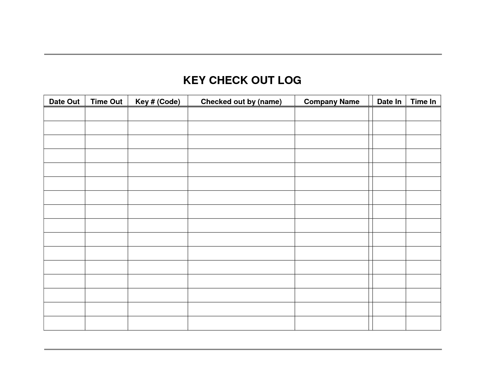 Home Inventory Log Tracking – My Template Collection