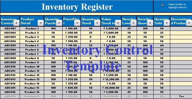 excel inventory template free download   Boat.jeremyeaton.co