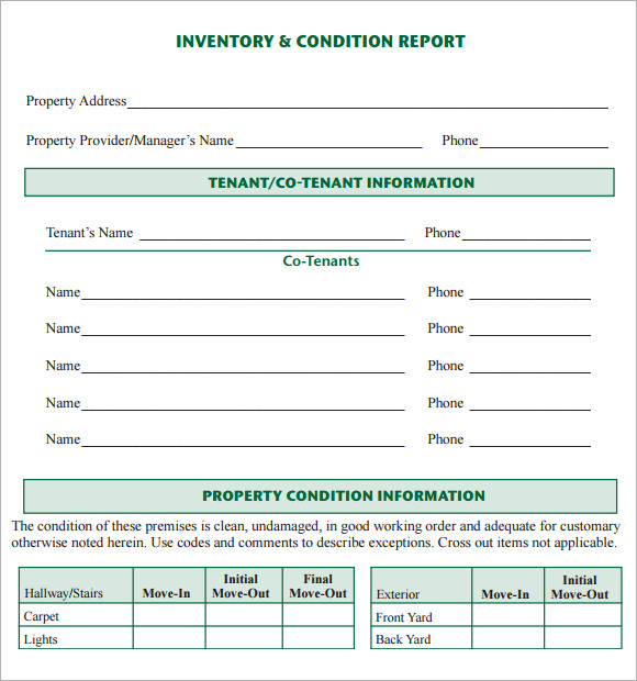 Inventory Report Template   21+ Free Excel Documents Download
