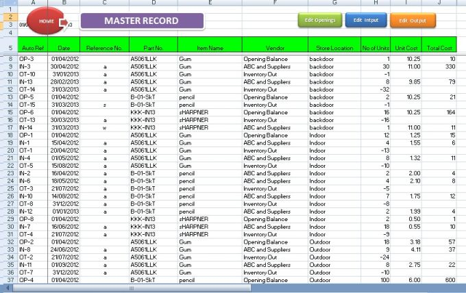 inventory template for excel charlotte clergy coalition