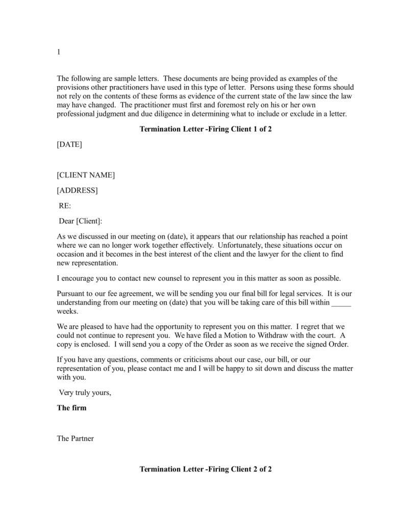 client termination letters   Kleo.beachfix.co