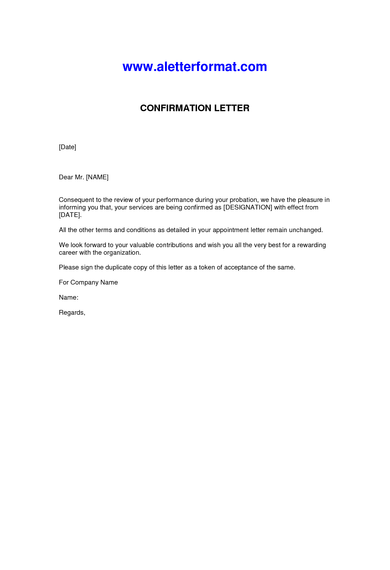 Letter Confirmation Employment charlotte clergy coalition