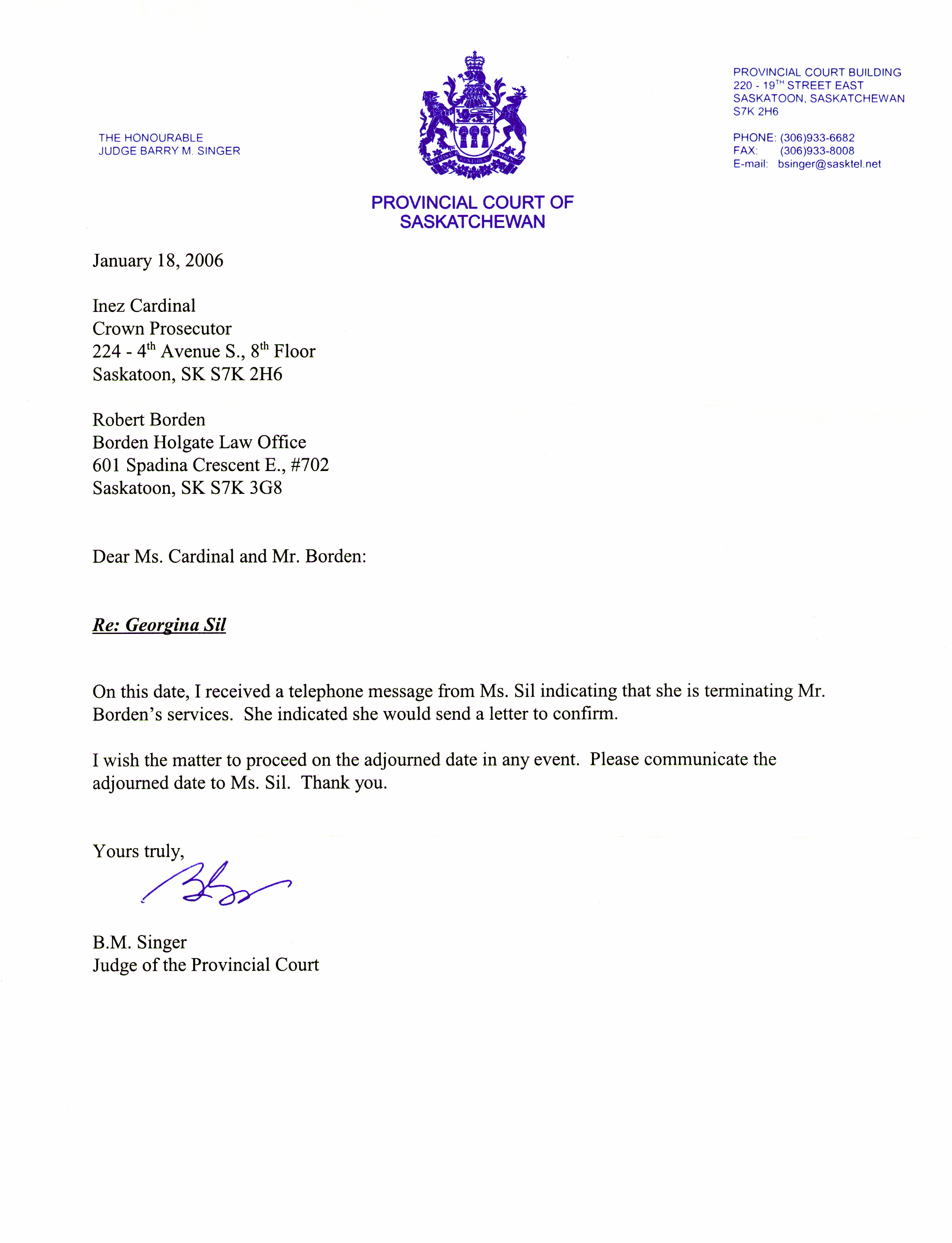 Letter to terminate attorney representation charlotte clergy coalition letter of representation attorney from judge singer fire robert spiritdancerdesigns Images