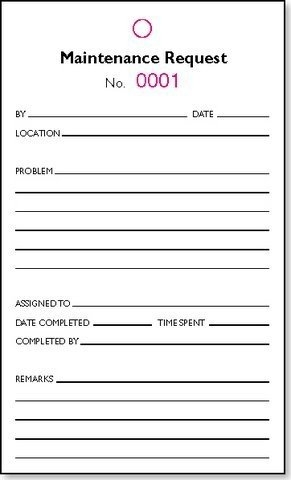 maintenance request form template excel   Tier.brianhenry.co
