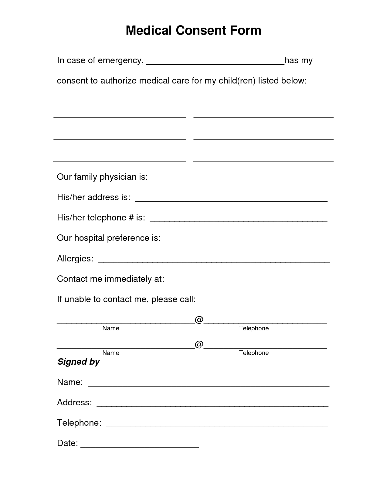 medical discharge form template   Kleo.beachfix.co
