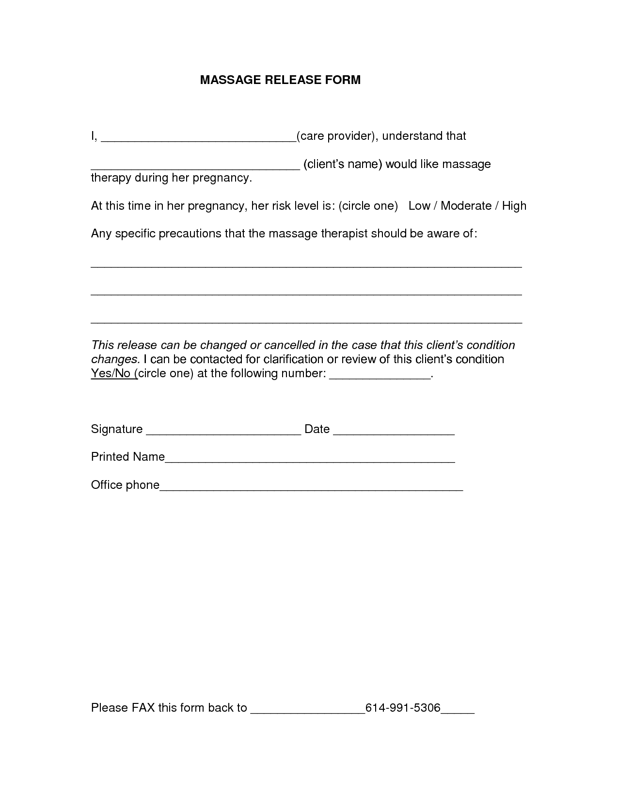 10+ Medical Release Forms   Free Sample, Example, Format   Free