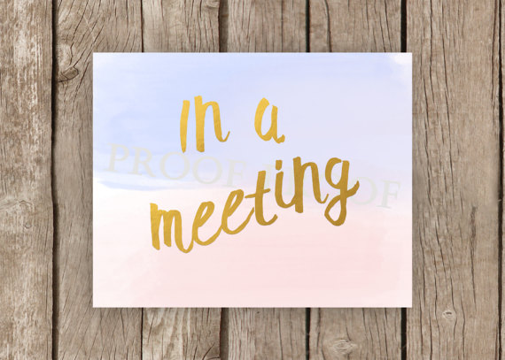 Meeting Signs Sign · Free vector graphic on Pixabay