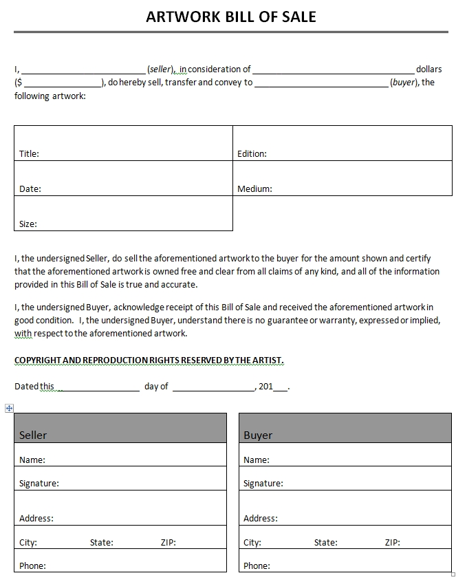 microsoft bill of sale template bill of sale templates microsoft