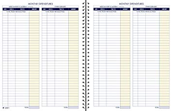 Adams Monthly Bookkeeping Book 8 12 x 11 by Office Depot & OfficeMax