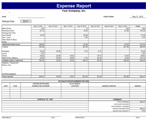 business trip expenses template - monthly expense report template charlotte clergy coalition