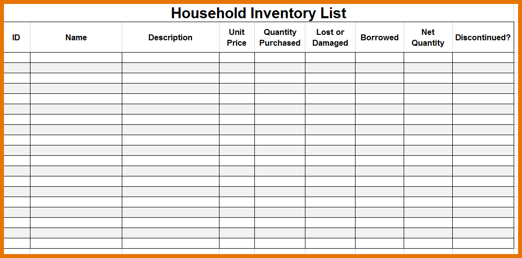 moving inventory form   Kleo.beachfix.co