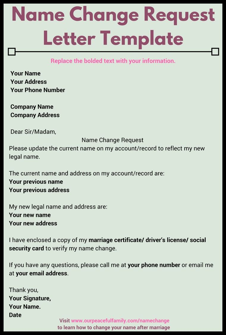 Change Of Business Name Letter Template Letter Format Company Name