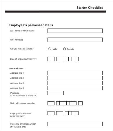 new employee form template   April.onthemarch.co