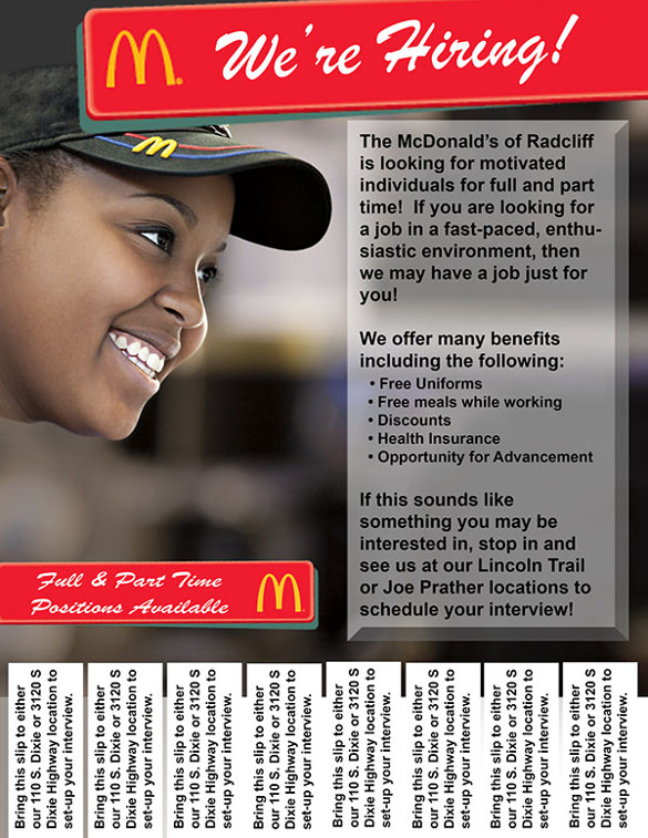 Customizable Design Templates for Now Hiring Flyer | PosterMyWall