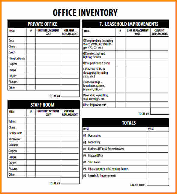 Office supply inventory template list targer golden dragon co