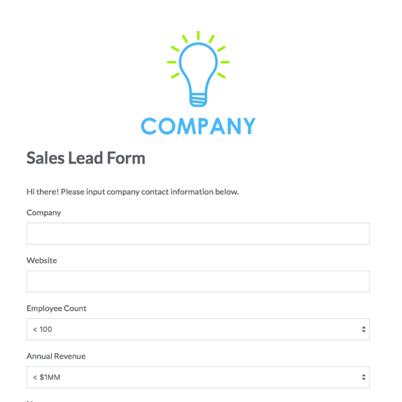Online Business Forms; Templates for Every Department | Formstack