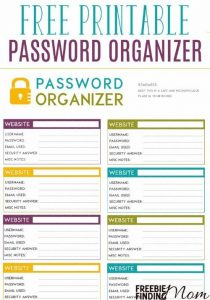 Password organizer template charlotte clergy coalition similar posts password tracker template maxwellsz