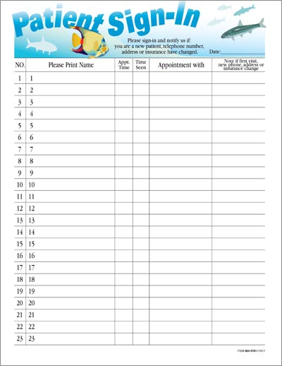 doctors sign in sheet template   Gecce.tackletarts.co