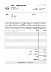 Payment Invoice Template Charlotte Clergy Coalition - Example of invoice form