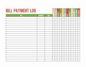 payment record template charlotte clergy coalition