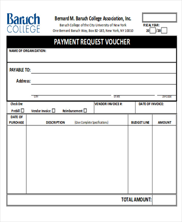 12+ Sample Payment Request Forms | Sample Templates