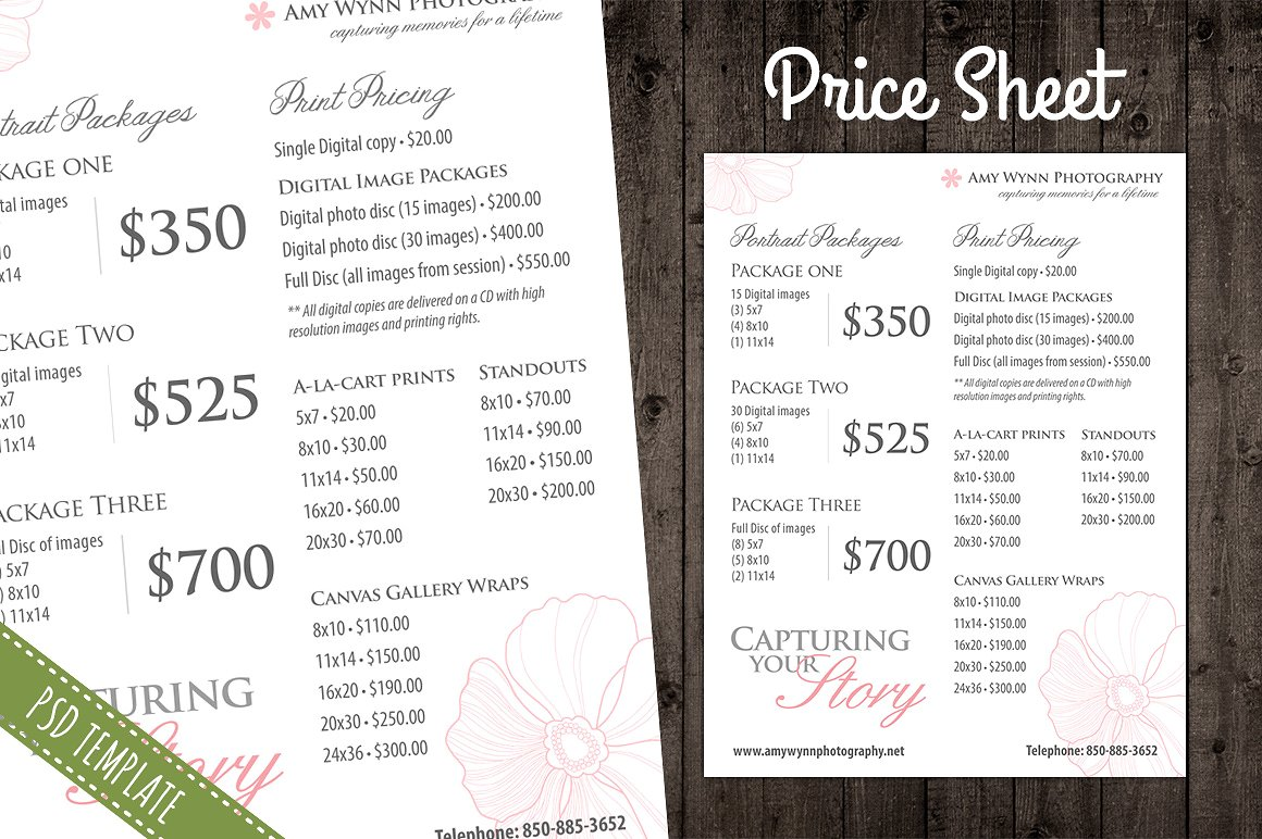 40 free price list templates price sheet templates template lab - Free Price List Template