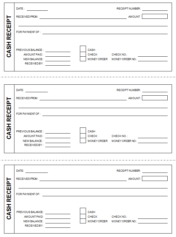 small cash receipt template and from sample helloalive excel