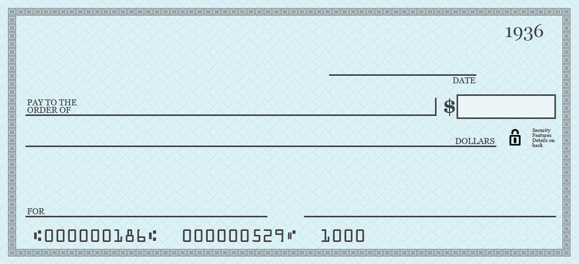 free printable checks template blank checks template presentation