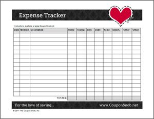 printable expense sheets   April.onthemarch.co