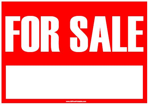 Printable  Car for Sale Sign | Good Ideas | Pinterest | Sale signs