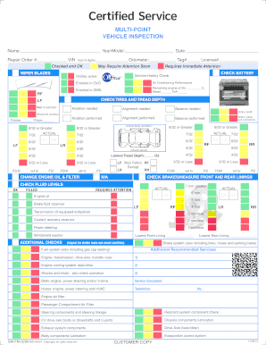 Juicy image pertaining to free printable vehicle inspection checklist