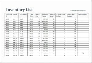 product inventory template charlotte clergy coalition