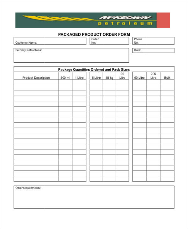 products order form template charlotte clergy coalition