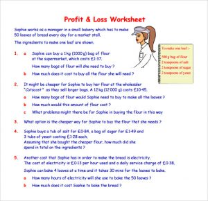 profit and loss worksheet charlotte clergy coalition