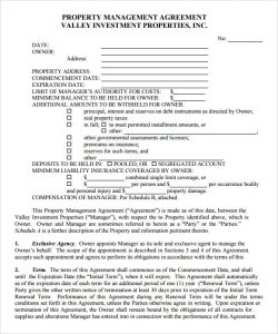Property management agreements templates charlotte clergy coalition similar posts sample property management agreement free maxwellsz