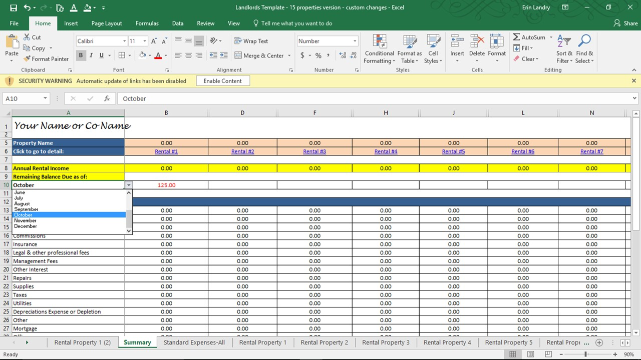 property management spreadsheet free download   Tier.brianhenry.co