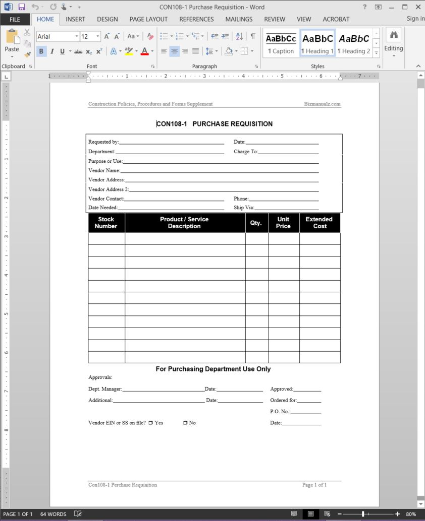 purchase requisition form template requisition form sample 10