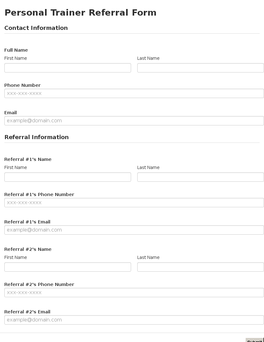 referral form template word   April.onthemarch.co