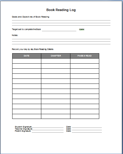 free log book template   April.onthemarch.co