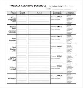 restaurant scheduling template charlotte clergy coalition
