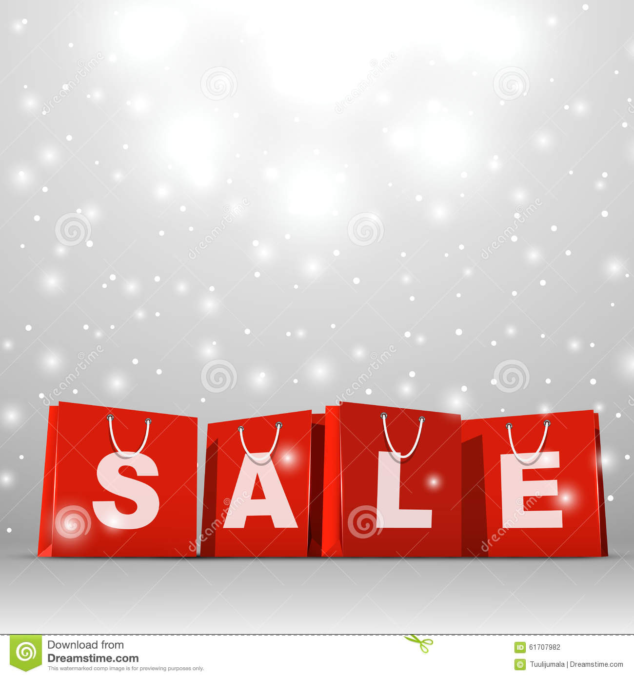 Christmas sale template stock photo. Image of bags, group   61707982