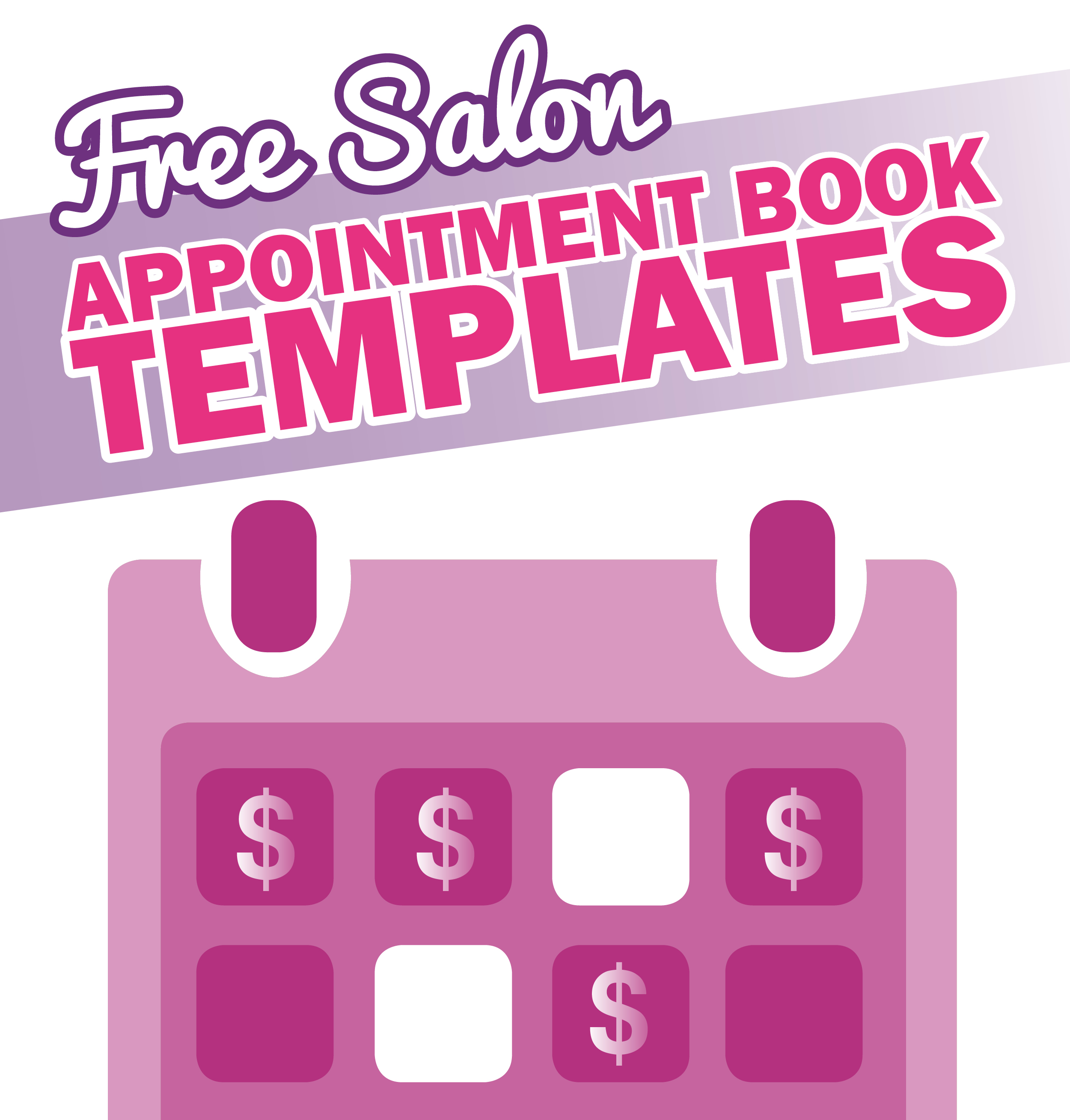 Printable Appointment Book Template