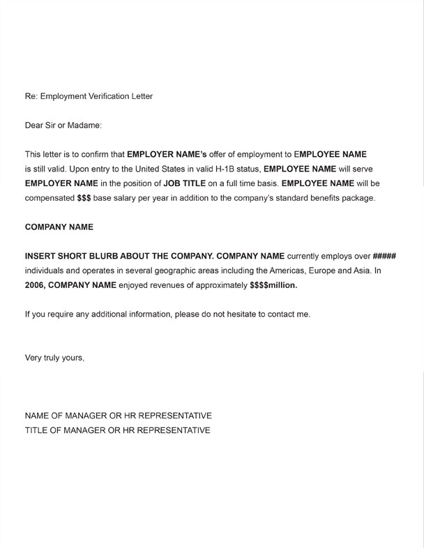 letter verification of employment   Kleo.beachfix.co