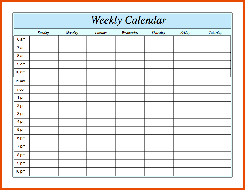 Schedule template pdf charlotte clergy coalition free weekly schedule templates for pdf 18 templates maxwellsz