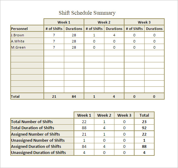 monthly shift schedule template   Boat.jeremyeaton.co