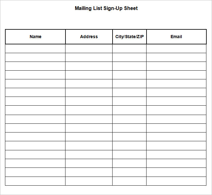 Sign Up Sheet Word Charlotte Clergy Coalition