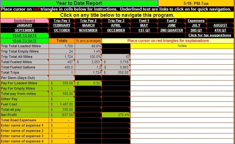 Spreadsheet For Truckers Charlotte Clergy Coalition