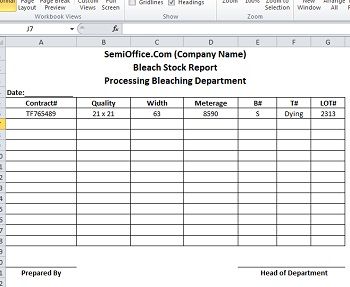 Stock Report Template – Free Report Templates