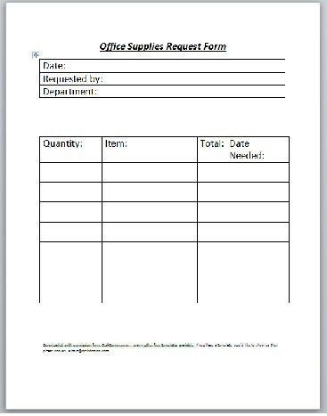 Supply request form charlotte clergy coalition equipment request form template supply request form templates ms maxwellsz