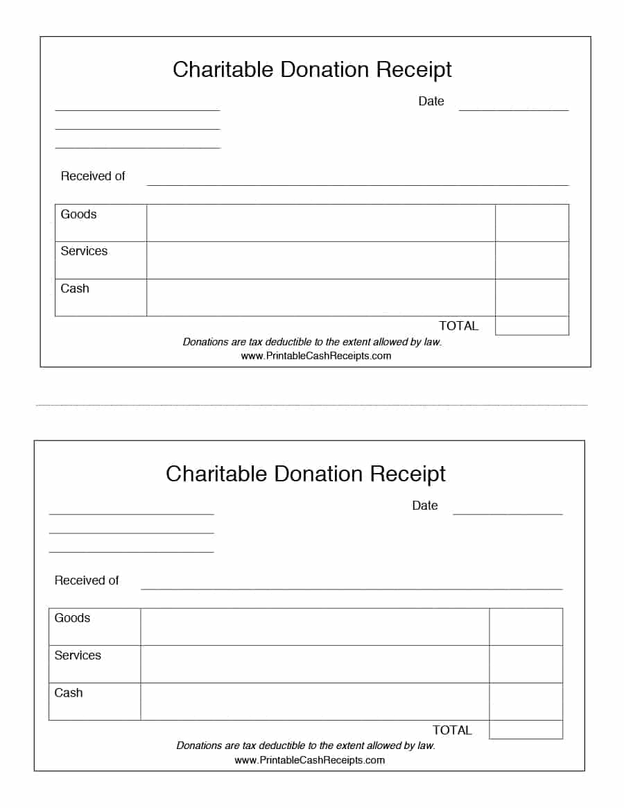 sample donation receipt   Gecce.tackletarts.co